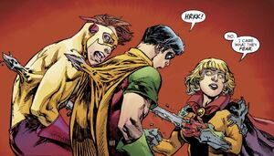 Tara Markov Dark Multiverse Teen Titans The Judas Contract 009