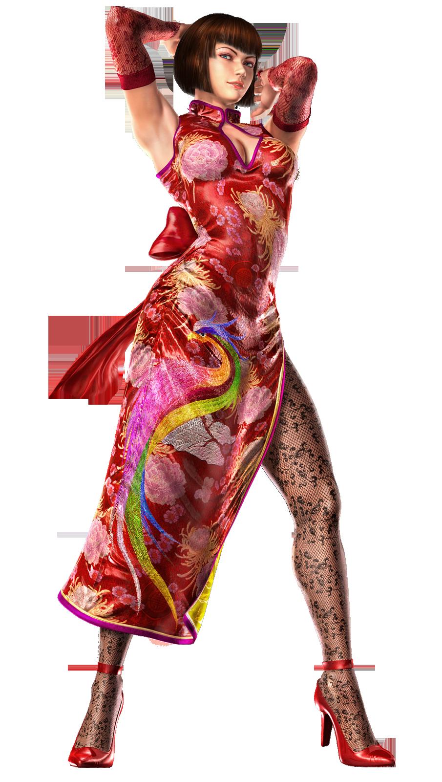 image - anna williams - full-body cg art image - tekken 6