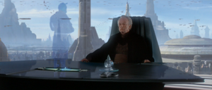 Chancellor Palpatine aide
