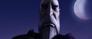 Count Dooku dumb-founded