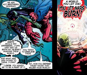 Despero vs Martian Manhunter 3