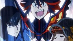 Kill la Kill Ryuko Kills Primordial Life Fiber (English Dub)