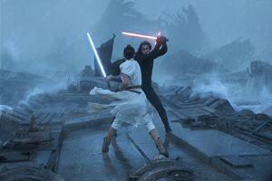 Kylo and Rey - Kef Bir Duel -TROS