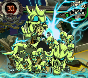 Marie combat form
