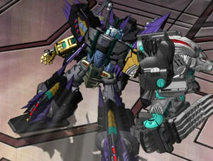 Megatron's Dark Claw Mode