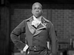 Aaron Burr black and white