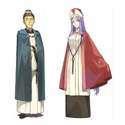 Archpriest Barrot & Archpriestess Moeran