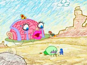 ChalkZone 310 Skrawls Brain Big Loo Duck Snap Duck The Happiest Song in the World 35