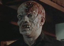 Jason in Friday the 13th part 4 unmasked