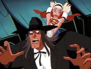 Reverend Amos Howell vs. Supergirl