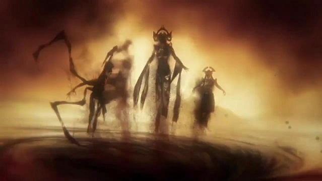 furies  god of war
