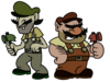 The mad hammer brothers