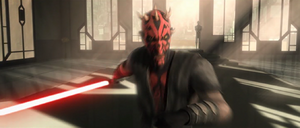 Darth Maul rushing