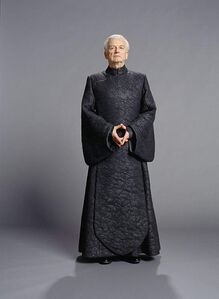 Palpatine in black