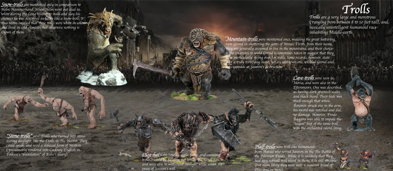 Armored Troll Lord Of The Rings