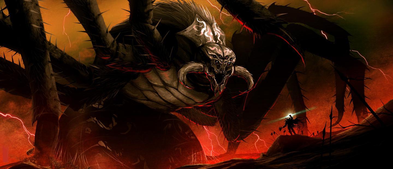 Ungoliant Vs Morgoth 13
