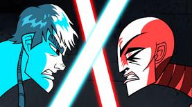 Anakin clash