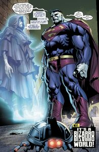 Bizarro and Lex Luthor