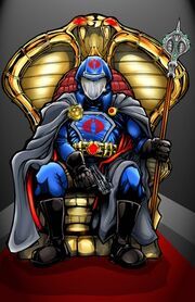 Cobra Commander colors