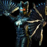 Dark Empress Kitana Mobile Render