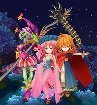 Goremand, Belladonna and the Crimson Wizard