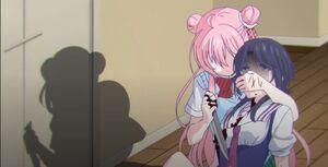 Shouko's death