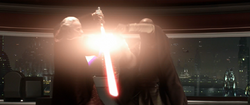 Sidious vs Mace