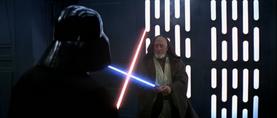 Darth Vader pounces