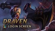 Draven, the Glorious Executioner Login Screen - League of Legends