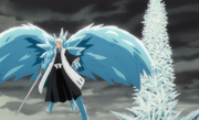 Hitsugaya turns back on frozen Harribel