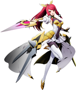 Izayoi (BlazBlue Cross Tag Battle, Character Select Artwork)