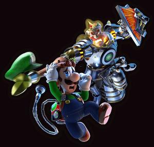 King MacFrights and Luigi artwork