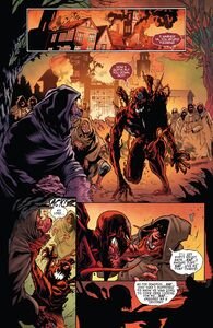 Cletus Kasady (Earth-616), Grendel (Klyntar) (Earth-616) John Jonah Jameson III (Earth-616) from Absolute Carnage vs. Deadpool 0002