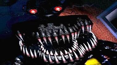 Five Nights at Freddy's 4 NIGHTMARE Jumpscare (FNAF 4)