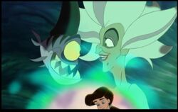 Morgana and Undertow see Melody found the locket Triton gave her