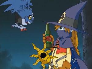 PicoDevimon and Wizardmon