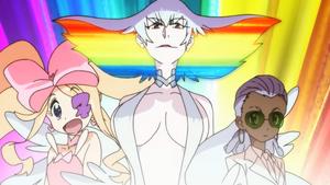 Ragyo, Rei Hoomaru, and Nui Harime Kill la Kill OP2