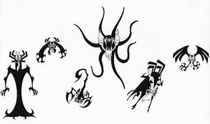 The Many Forms Of Aku by Nes44Nes
