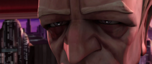 Chancellor Palpatine close-up