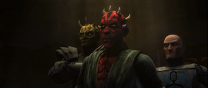 Darth Maul listening