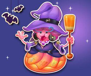 Jelly queen halloween