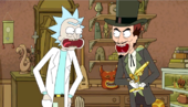 Rick and needful evil laugh