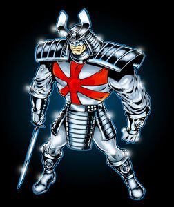 Silver-samurai