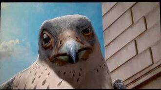 Stuart Little 2 (2002) Falcon Meets Margalo