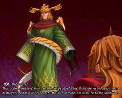 Dragon Lord's human form (Remake)