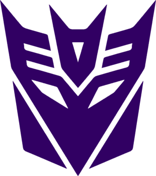 Decepticon Logo Black Decepticons | Villains...