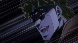 Stardust Crusaders S2 (English Dub) - DIO Reveals his Stand