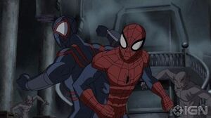 Ultimate Spider Man Return to the Spider-Verse Clip from part one