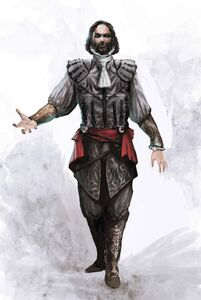 Cesare Borgia without Armour - Concept Art