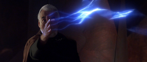 Darth Tyranus lightning